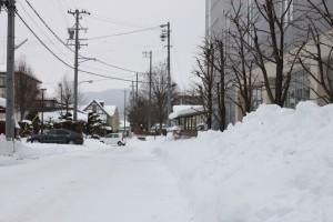 【塩尻スナップ】塩尻も、ようやく冬景色になりました
