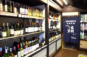 信州・木曽の美酒は全てここにあります(塩尻市奈良井宿 笹屋酒店)