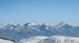 塩尻峠で雪?