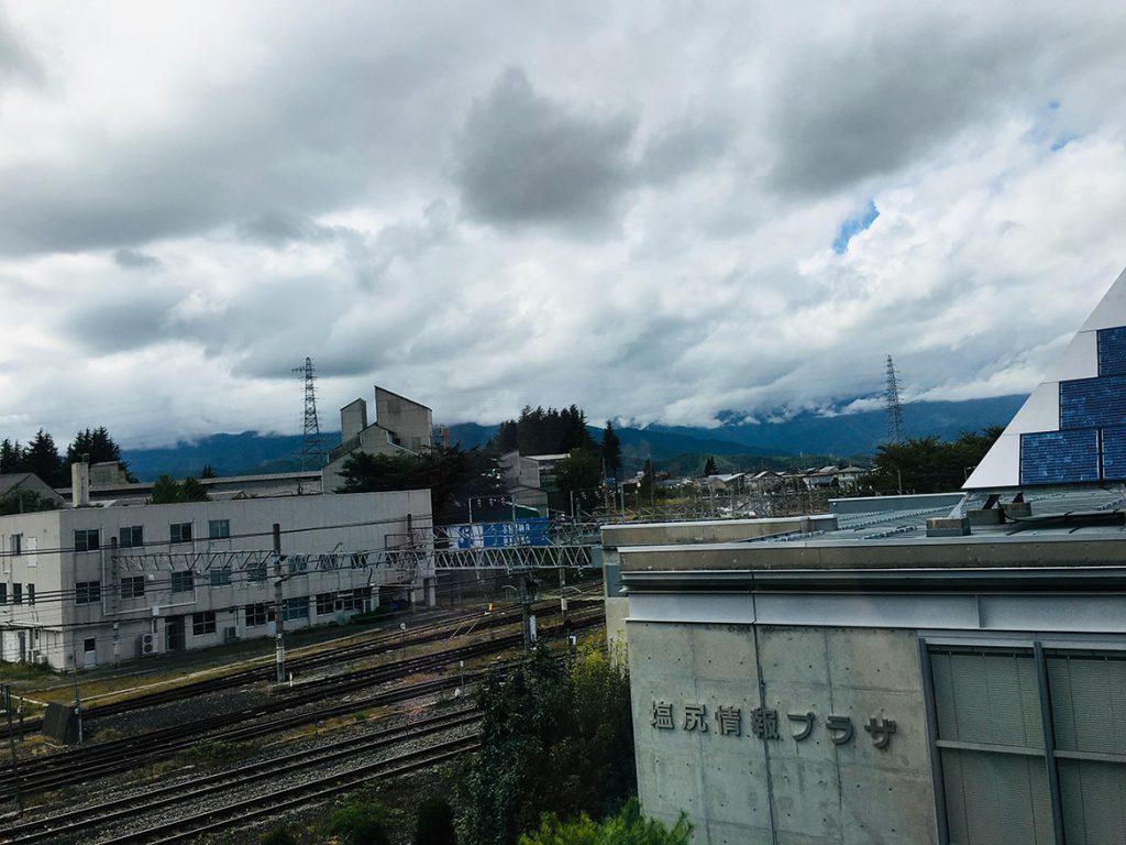 塩尻の空2019.10.07