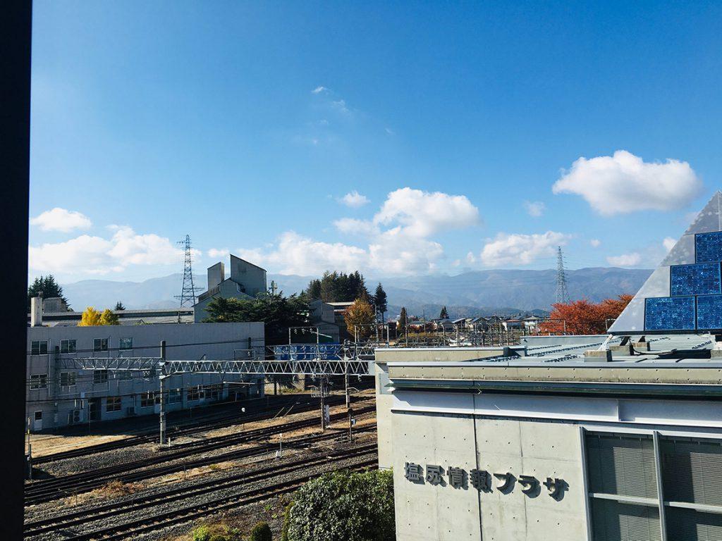 塩尻の空2019.11.12